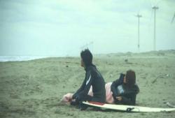 結局、二人きりで行った海