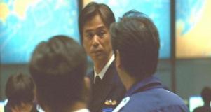 十菅機動救援隊、10分前に航空基地を出ました