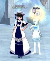 鏡の魔女2ショット
