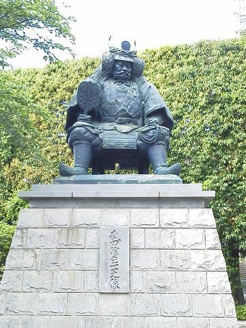 甲府駅前 武田信玄像