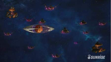 46ヴェイガン艦隊