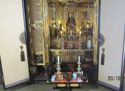 仏壇修理成る
