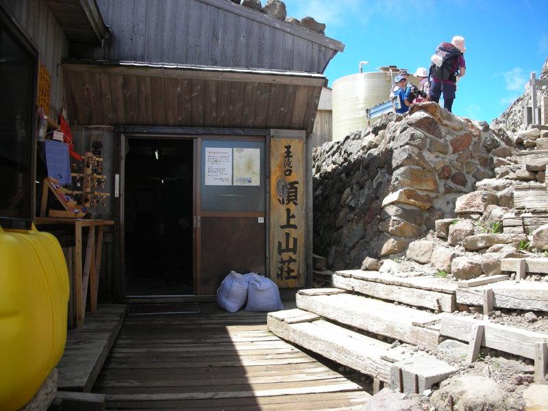王滝頂上の山小屋