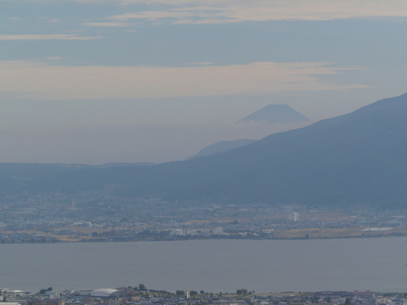 諏訪湖 ・ 富士
