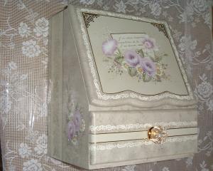 水仙とバラのボックス