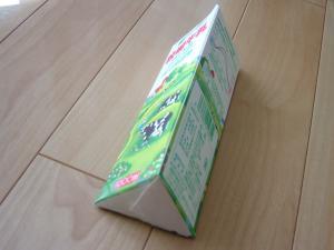 牛乳パック踏み台2
