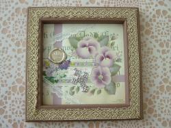 Shabby violet Freme