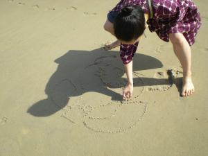 砂浜サクマさん