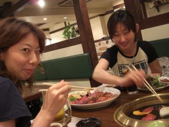 トランチ女子焼肉2