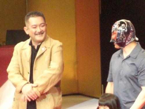 後藤ひろひとさんとデルフィンさん