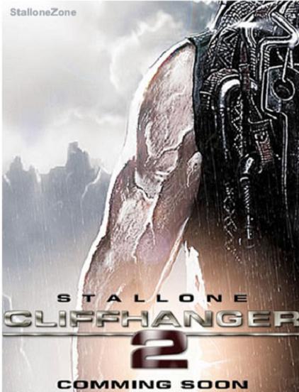 クリフハンガー2ポスター