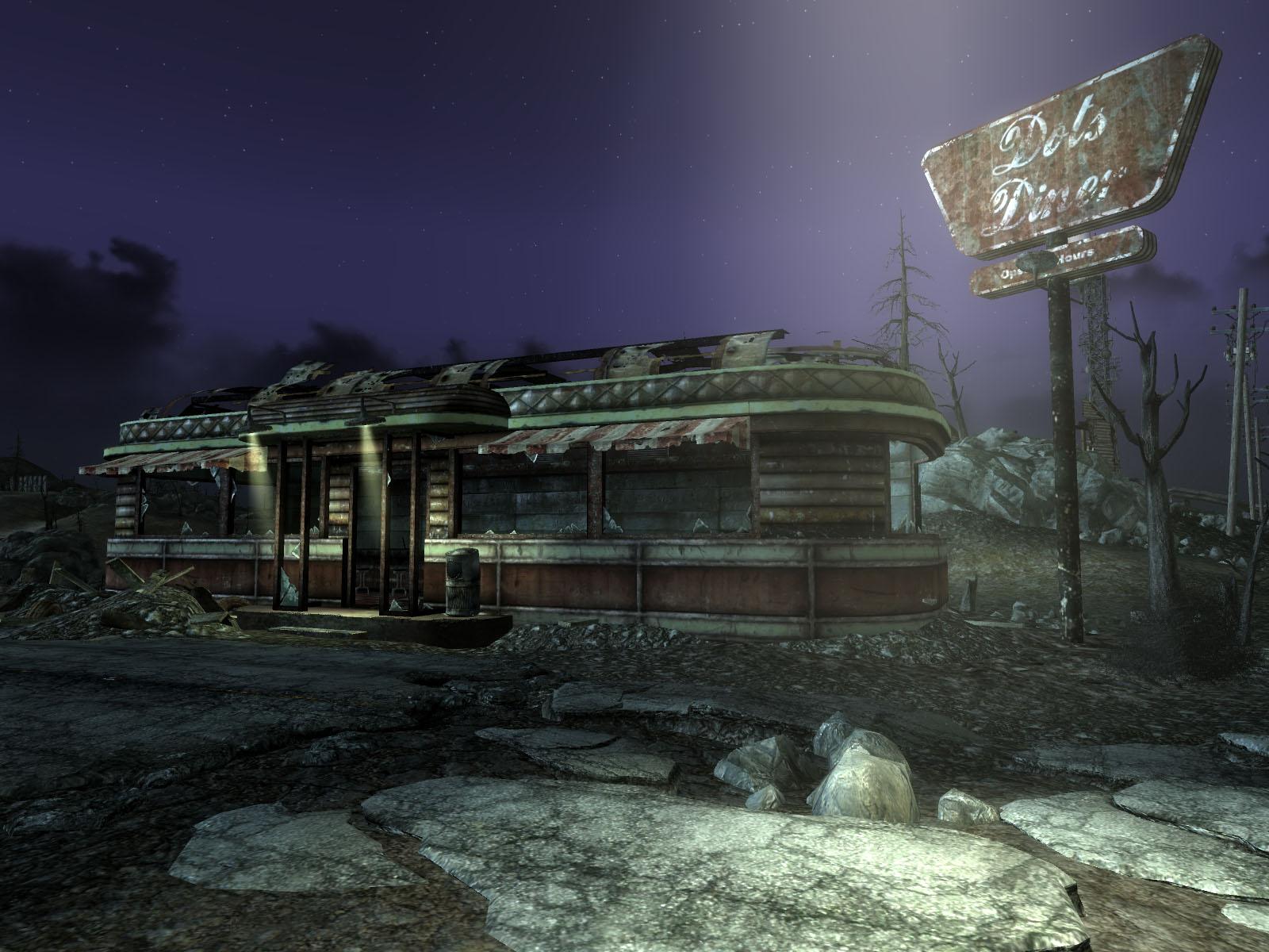 FallOut3,フォールアウト3,お気に入り,夜景