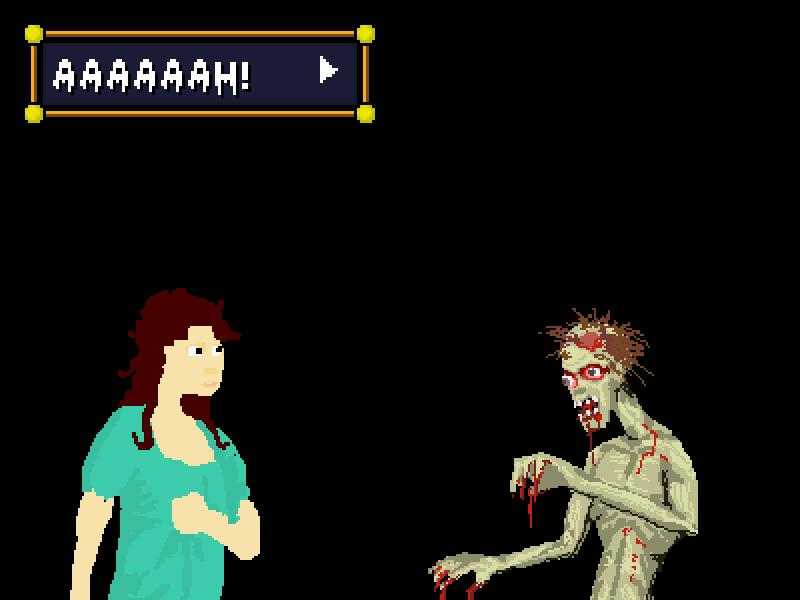 Cottage Of Doom,フリーゲーム,ゾンビ,OP