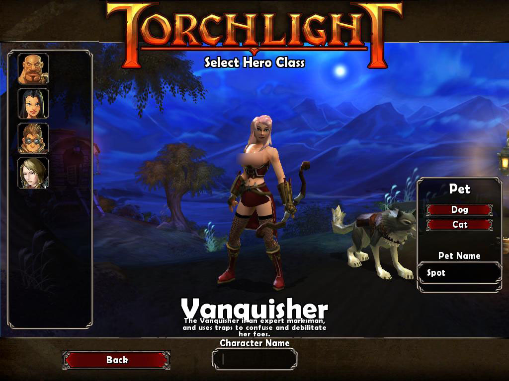 TorchLight,トーチライト,MOD,Vanquisher,pinkhair