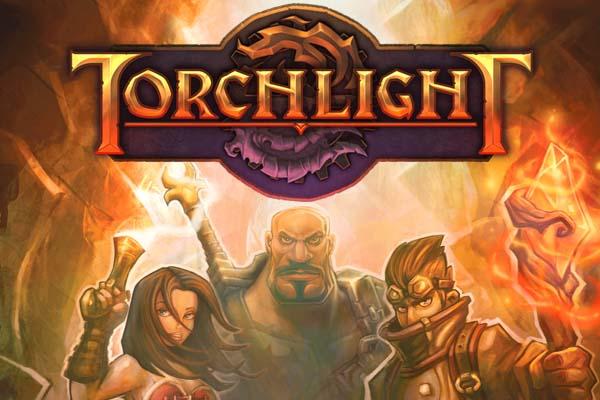 TorchLight,トーチライト,ロゴ