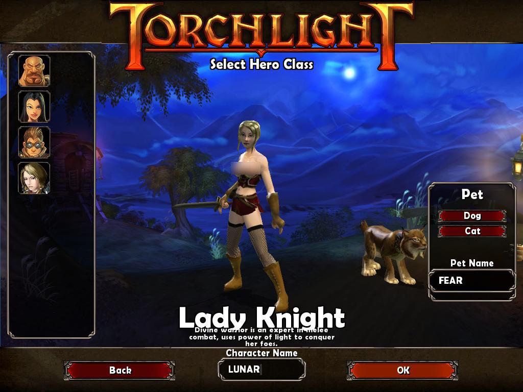 TorchLight,トーチライト,MOD,LadyKnight,1