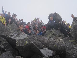 山頂 (2)