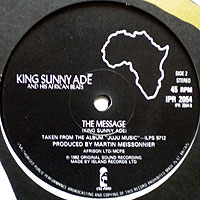 KingSunnyAde-Message(UKレーベル200