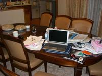 キッチン書斎