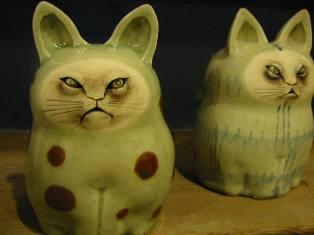 岡山富男 猫(大)