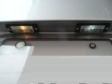 ナンバー灯(2)