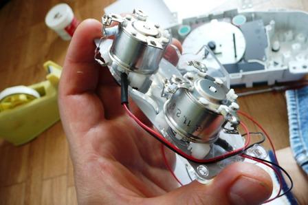 メーター中央針LED化 (2)