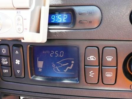 CN9A 車載時計LED化
