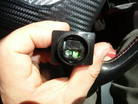 ハザードスイッチ LED用 加工