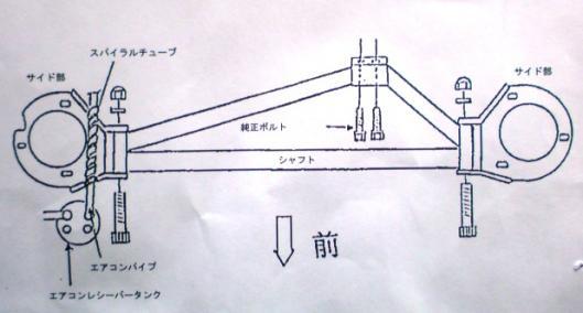 CUSCO BCS付マウントブラケット (2)