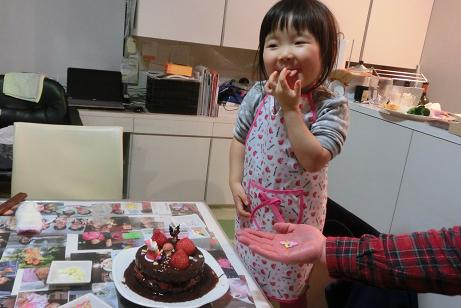 ケーキづくり②