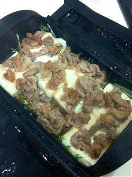 豚豆腐豆腐蒸し行程