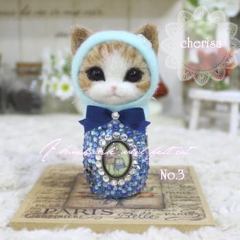 茶トラ白猫ちゃんのマトさん^^