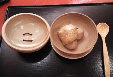 小芋ゴマ味噌で