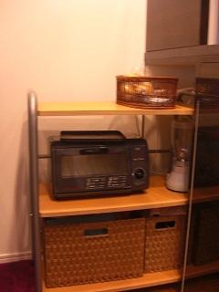 キッチンカウンター収納部