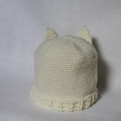 猫帽子後ろ
