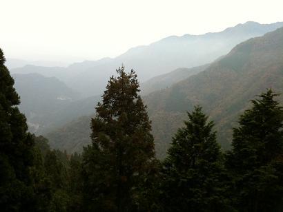 三峯神社遙拝殿からの景色