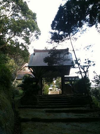 智蔵寺山門