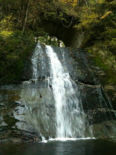 開墾場の滝