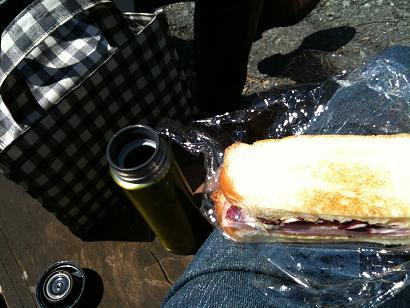 巾着田 お昼