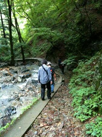 竜化の滝撤退