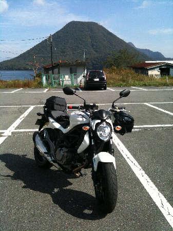 グラと榛名富士