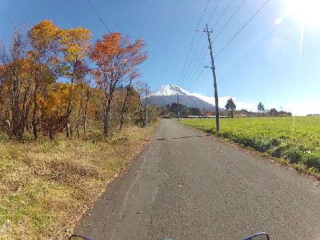 富士山目指して