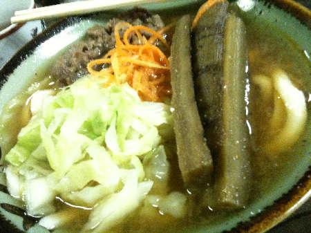 肉キンうどん201211110