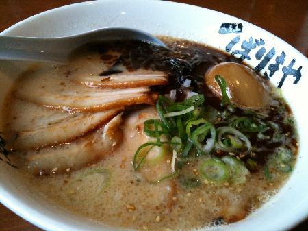 肉入りバリコテ麺