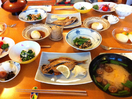 朝食20121201