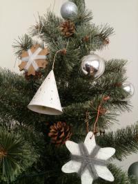 クリスマスツリー アップ