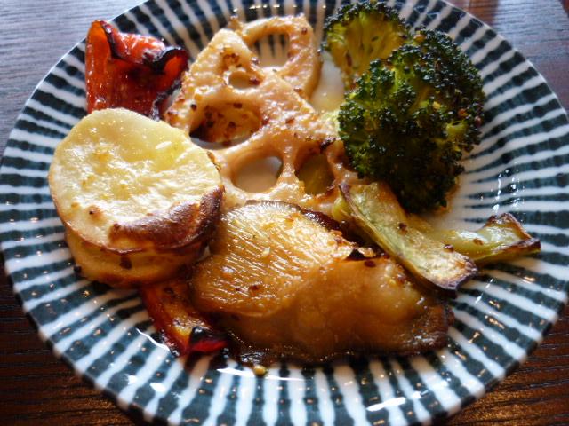 冬の焼野菜