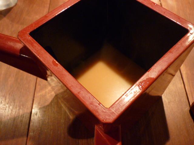 信州味噌のダシ