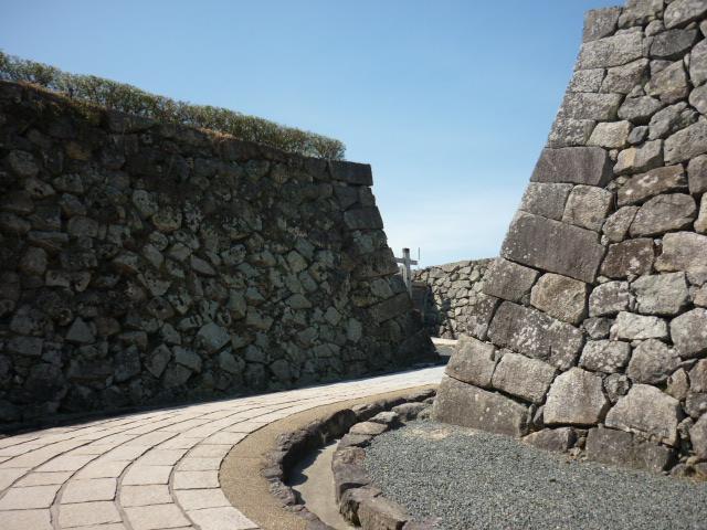 篠山城石垣