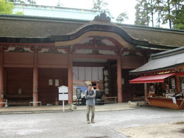 比叡山の根本中堂と私